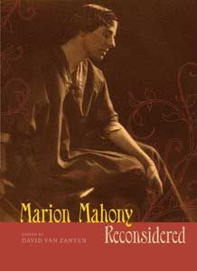 Book launch - Marion Mahony Reconsidered - Thursday 11 August, 6.00 for 6.30pm |