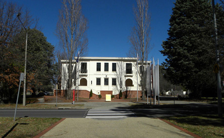 Integrity of Canberra's Parliamentary Triangle threatened |  1