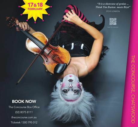 A circus opera The Carnival 17 and 18 February 2017 |